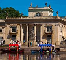 Parc Royal de Lazienki à Varsovie