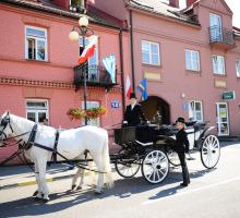 Calèche exclusive Varsovie