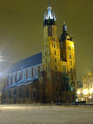 Basilique St. Marie Cracovie