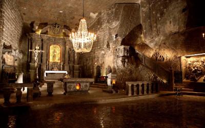 Chapelle St. Kinga à la Mine de Sel de Wieliczka