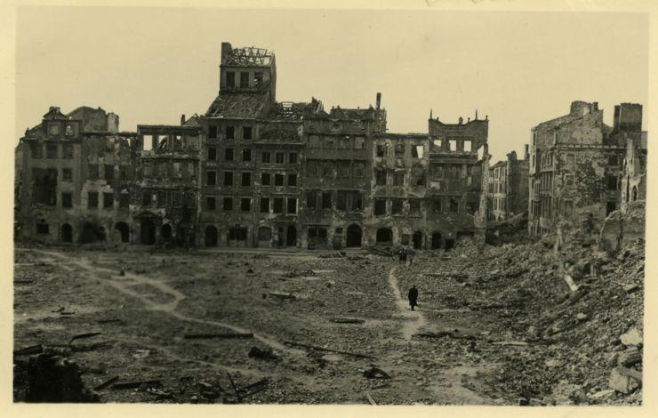 Visite de Varsovie durant la Seconde Guerre Mondiale