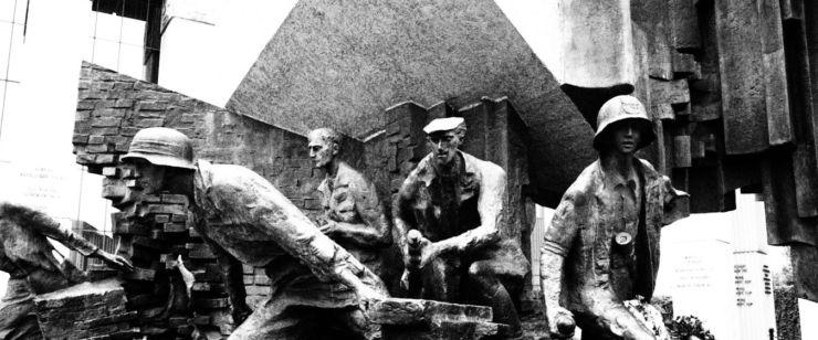 Monument sur l'Insurrection de Varsovie