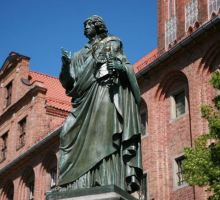 Monument de Nicolas Copernic à Torun
