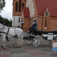 Calèche à Varsovie
