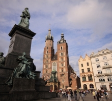 Eglise Mariacki, Cracovie