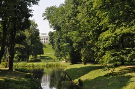 Parc de Lazienki à Varsovie