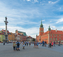 Place du château à Varsovie