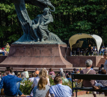 Monument de Chopin, Varsovie