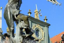 Gdansk, Fontaine de Neptune