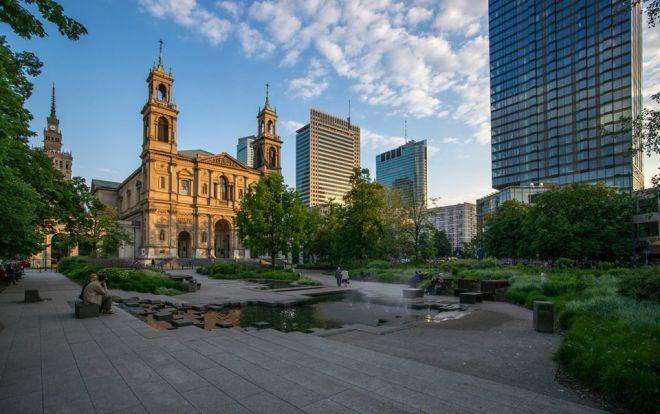 Grzybowski Square à Varsovie