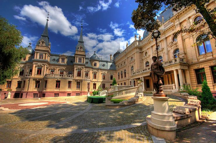 Lodz, Palais Poznanski