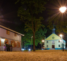Lodz, Architecture en Bois Skansen