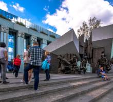 Monument de l'Insurrection, Varsovie